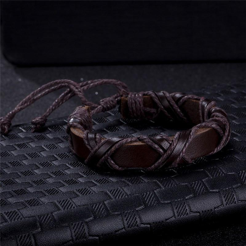 FORGE Viking Leather Bracelet - The Dragon Shop - Geek Culture