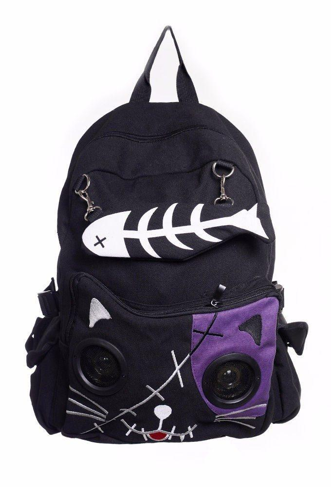 Fishbone Backpack - The Dragon Shop - Geek Culture
