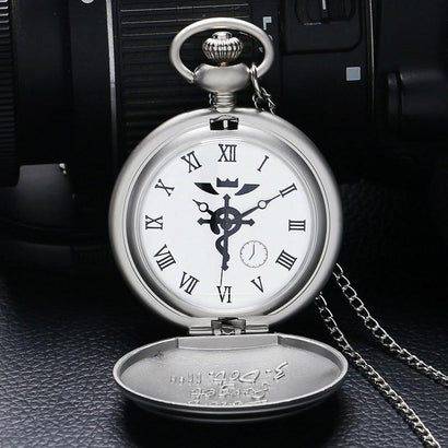 FMA State Alchemist Pocket Watch - The Dragon Shop - Geek Culture