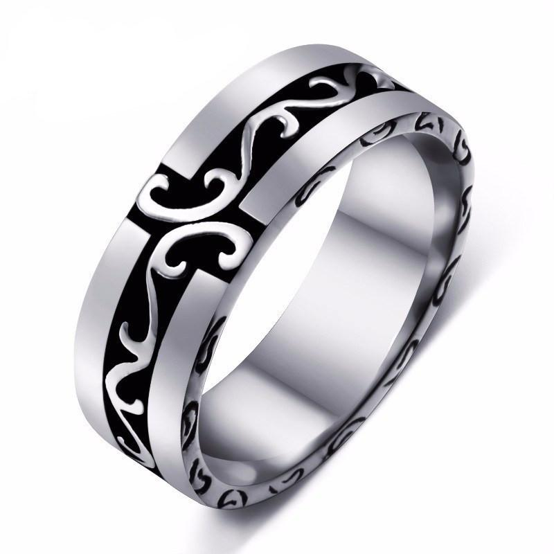Viking Pride Stainless Steel Ring - The Dragon Shop - Geek Culture