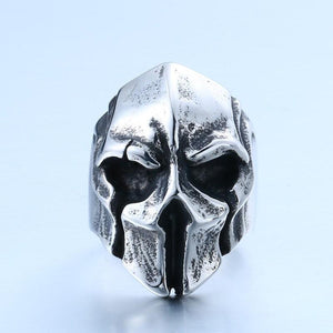 Skeleton King Steel Ring - The Dragon Shop - Geek Culture