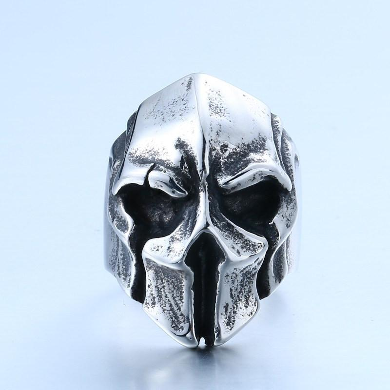 Skeleton King Stainless Steel Ring - The Dragon Shop - Geek Culture