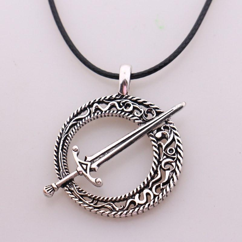 DS 3 Blade of The Dark Moon Necklace - The Dragon Shop - Geek Culture