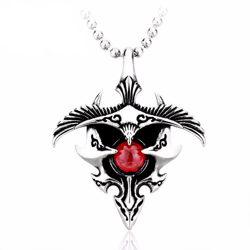 VELOCITY Steel Necklace - The Dragon Shop - Geek Culture