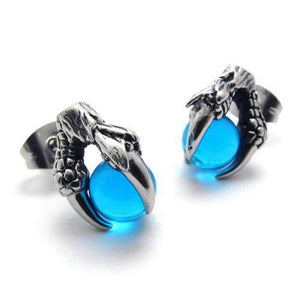 DRAGON CLAW Stainless Steel Earrings - The Dragon Shop - Geek Culture