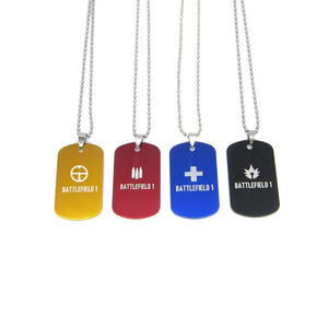 Battlefield 4 Class Tag Necklace - The Dragon Shop - Geek Culture