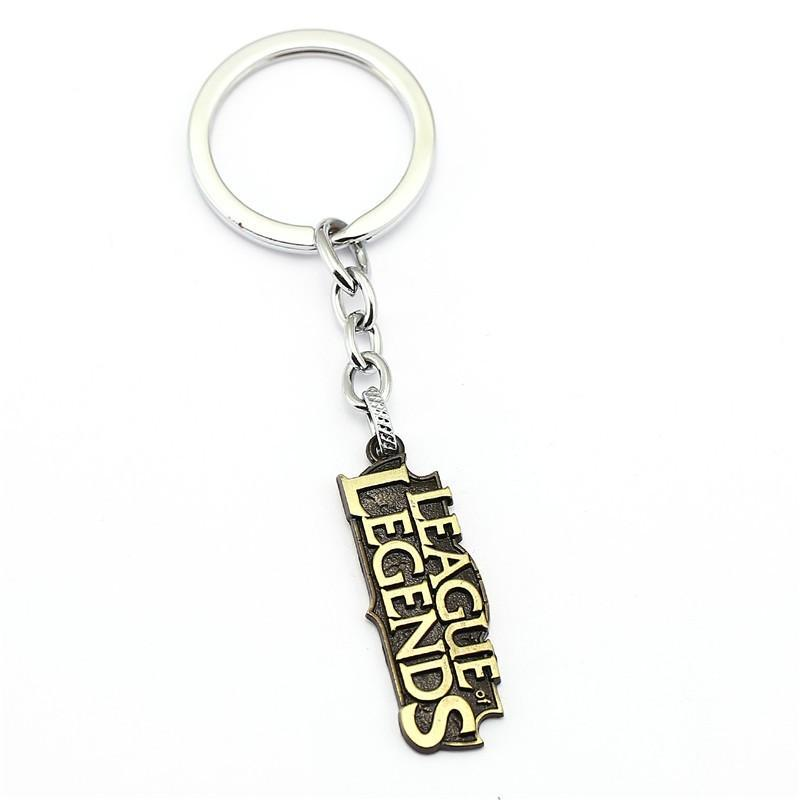 LoL Classic Steel Keychain - The Dragon Shop - Geek Culture