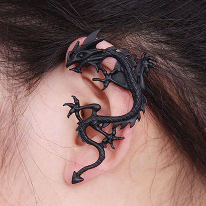 THE LIZARD Steel Earring - The Dragon Shop - Geek Culture