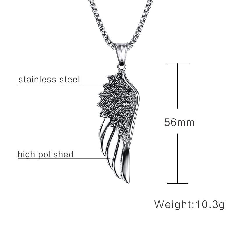 """GUARDIAN"" Stainless Steel Necklace"