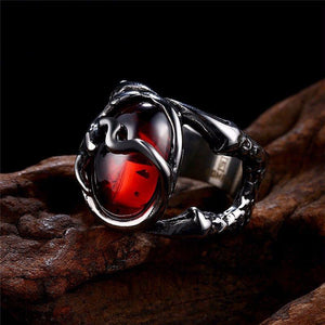 Dragon Heart Ruby Ring - The Dragon Shop - Geek Culture