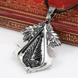 Assassin's Creed Templar Steel Necklace - The Dragon Shop - Geek Culture