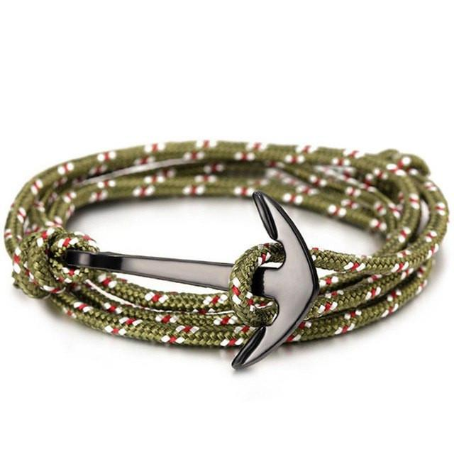 Anchors Aweigh Layered Bracelet - The Dragon Shop - Geek Culture