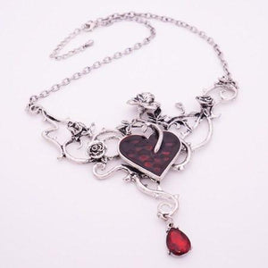Drop of My Heart Necklace - The Dragon Shop - Geek Culture