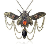Beetle Steampunk Necklace - The Dragon Shop - Geek Culture