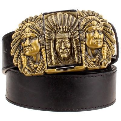 ANCESTORS Leather Belt - The Dragon Shop - Geek Culture