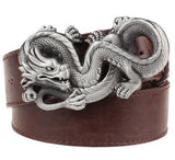 DRAGONBORN Leather Belt - The Dragon Shop - Geek Culture