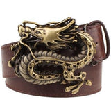 DRAGONITE Leather Belt - The Dragon Shop - Geek Culture