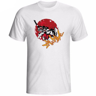 Neon Genesis Evangelion Artistic T-Shirts - The Dragon Shop - Geek Culture