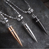BULLETPROOF Stainless Steel Necklace - The Dragon Shop - Geek Culture