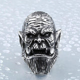 Durotan Stainless Steel Ring - The Dragon Shop - Geek Culture