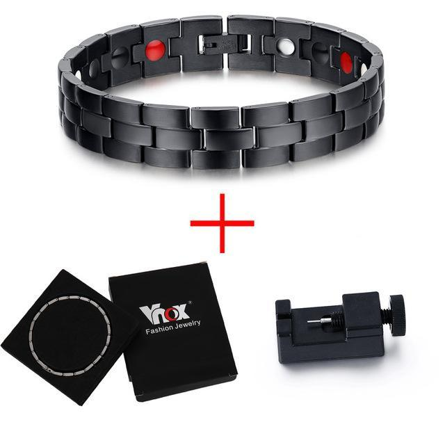 Digital Darkness Steel Bracelet - The Dragon Shop - Geek Culture