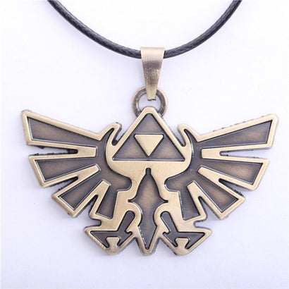 Legend of Zelda Steel Triforce Necklace - The Dragon Shop - Geek Culture