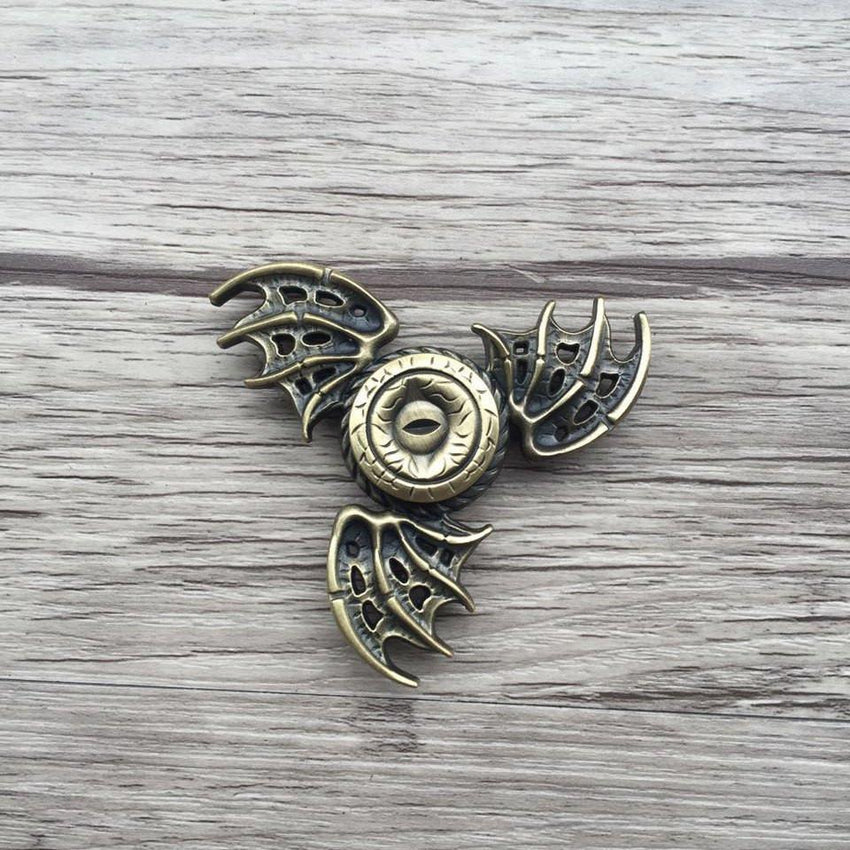 Dragon's Eye Steel Fidget Spinner - The Dragon Shop - Geek Culture