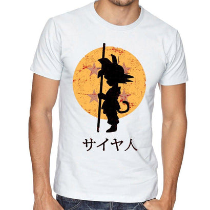 Dragon Ball Z Artistic T-Shirt Series - The Dragon Shop - Geek Culture