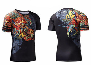 Dragon King Fitness Shirt - The Dragon Shop - Geek Culture