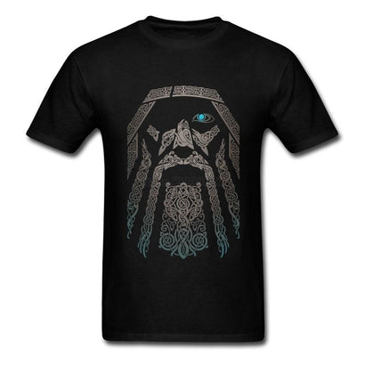 Odin Viking Artistic T-Shirt - The Dragon Shop - Geek Culture