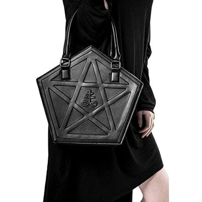 Five Star Leather Bag - The Dragon Shop - Geek Culture
