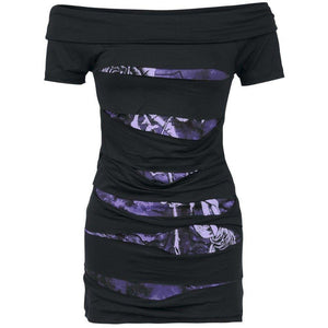 HOLLOW Mini Dress - The Dragon Shop - Geek Culture