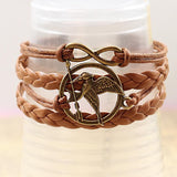Hunger Games Mockingjay Bracelet - The Dragon Shop - Geek Culture