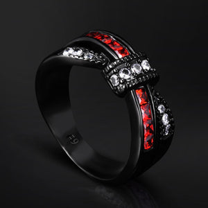 EUPHORIA Crystal Ring - The Dragon Shop - Geek Culture