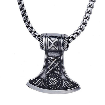 THORAXE Steel Amulet - The Dragon Shop - Geek Culture