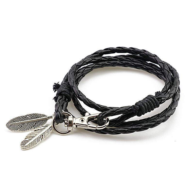 HERMES Leather Bracelet - The Dragon Shop - Geek Culture