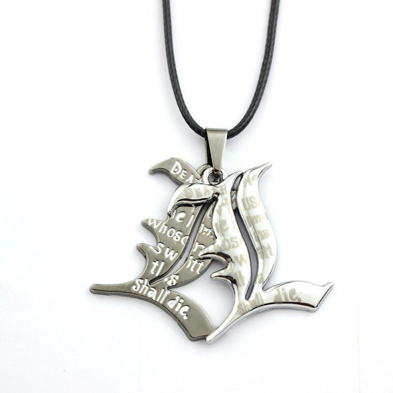 Death Note L Silver Necklace