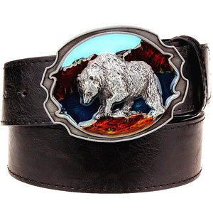 BEARPOLAR Leather Belt - The Dragon Shop - Geek Culture