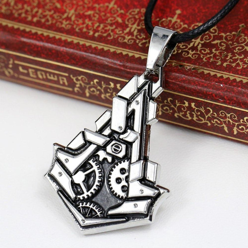 Assassin's Creed Deiss Gear Necklace - The Dragon Shop - Geek Culture