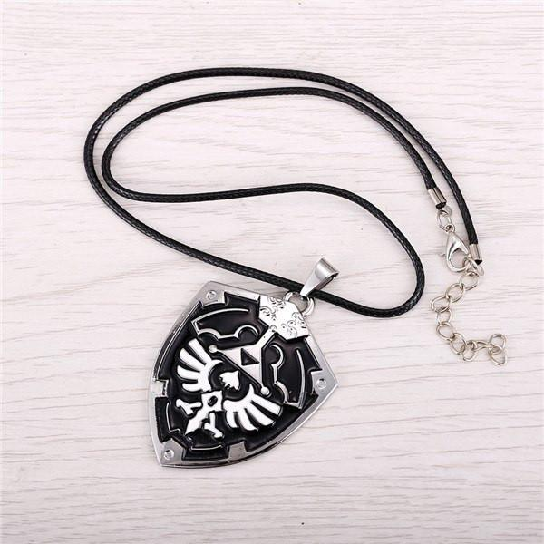 Legend of Zelda Metal Shield Pendant - The Dragon Shop - Geek Culture