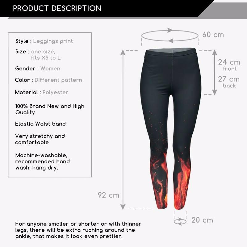 LOADED One-Size Leggings - The Dragon Shop - Geek Culture
