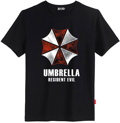 Resident Evil Umbrella T-Shirt - The Dragon Shop - Geek Culture