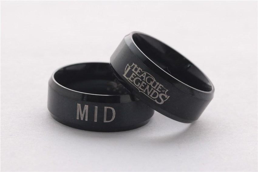 LoL Stainless Steel Ring - The Dragon Shop - Geek Culture