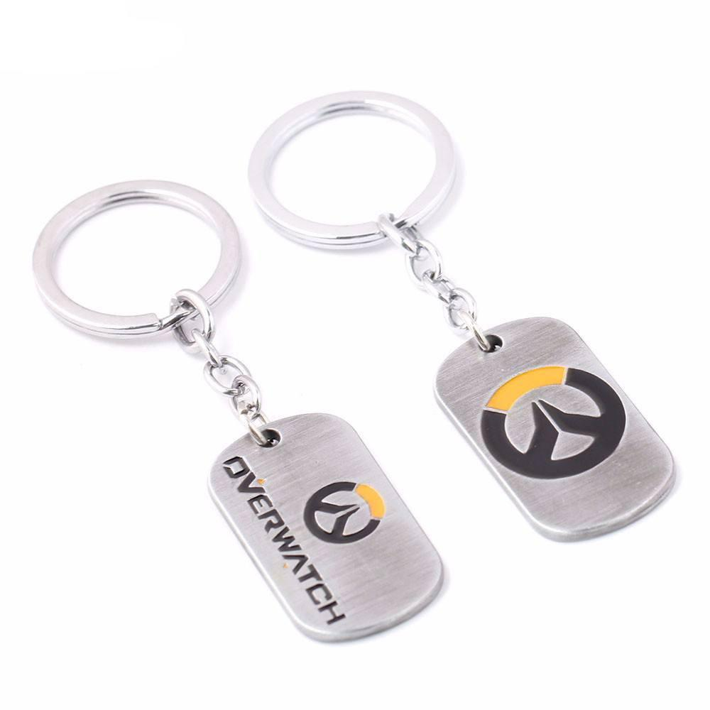 Overwatch Tag Keychain - The Dragon Shop - Geek Culture