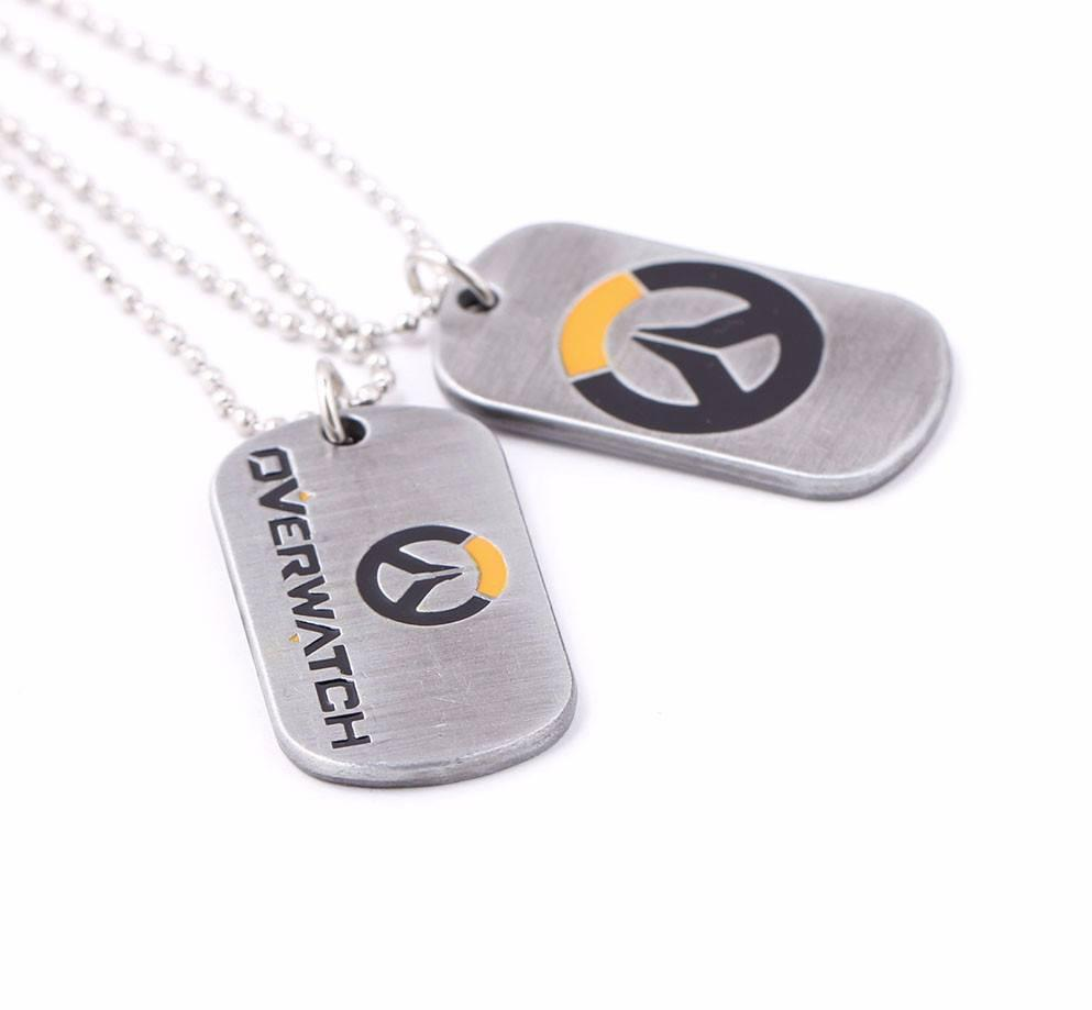 Overwatch Tag Necklace - The Dragon Shop - Geek Fashion
