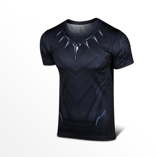 Black Panther Vibranium Armor T-Shirt - The Dragon Shop - Geek Culture
