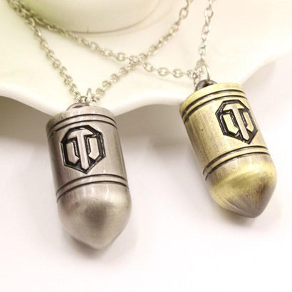 World of Tanks Steel Necklace - The Dragon Shop - Geek Culture