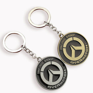 Overwatch Steel Keychain - The Dragon Shop - Geek Culture