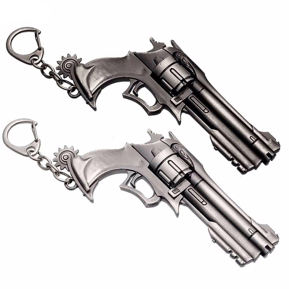 Overwatch McCree Revolver Keychain - Muse Raven - Dream Out Loud