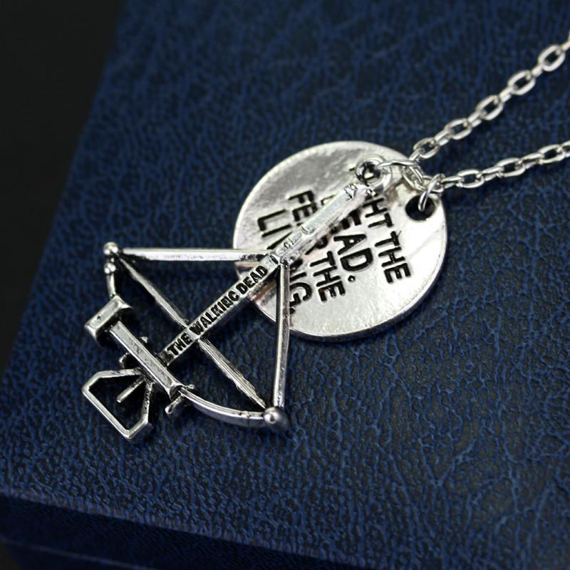 Walking Dead Crossbow Necklace